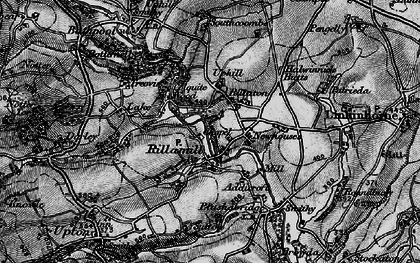 Old map of Rillaton in 1895