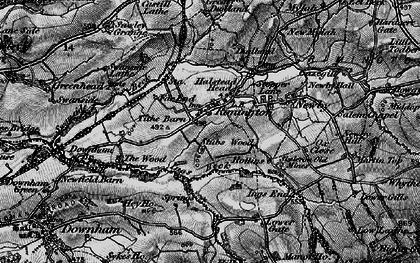 Old map of Rimington in 1898