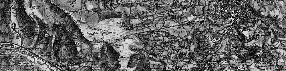 Old map of Whitelow in 1896