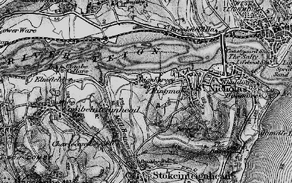 Old map of Ringmore in 1898
