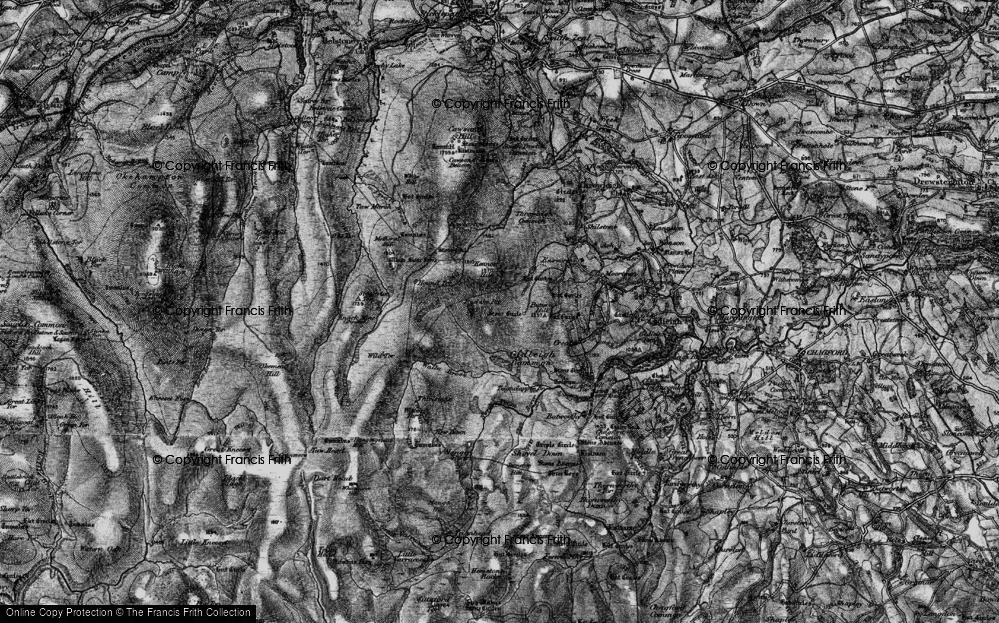 Old Maps of Ruelake Pit - Francis Frith
