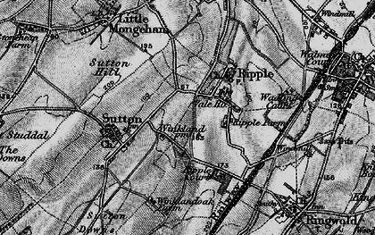 Old map of Ripple in 1895