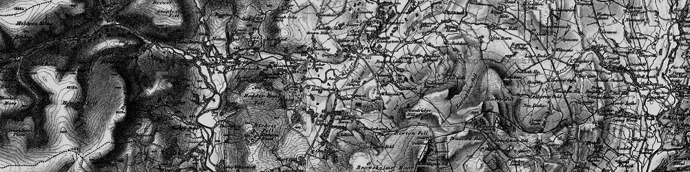 Old map of Windyates in 1896