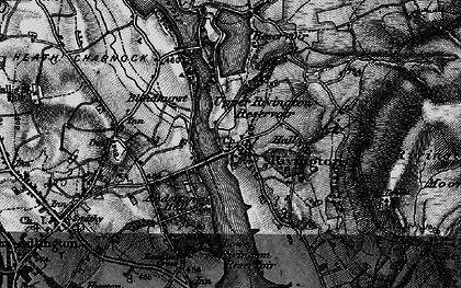 Old map of Alance Bridge in 1896