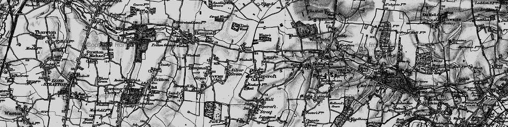 Old map of Winter's Grove in 1898