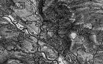Old map of Toft Ho in 1897