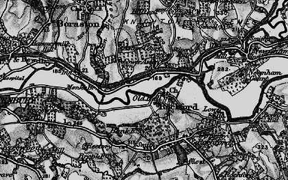 Old map of Rochford in 1899