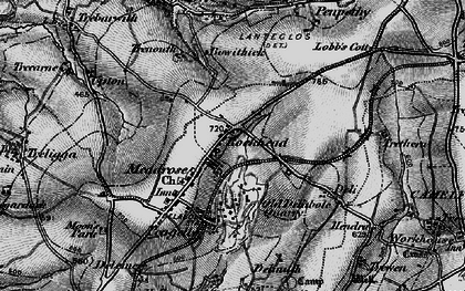 Old map of Rockhead in 1895