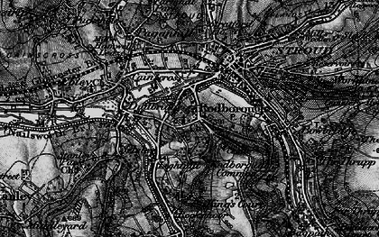 Old map of Rodborough in 1897