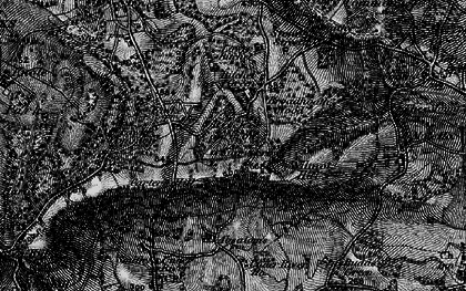 Old map of Wilmot Hill in 1895