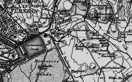 Old map of Westfield Point in 1897