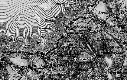Old map of Rosemergy in 1896