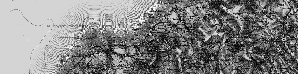 Old map of Whirl Pool in 1896