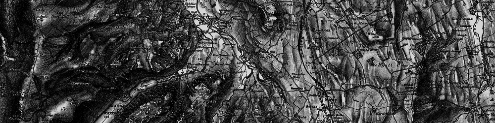 Old map of Wilson Scar in 1897
