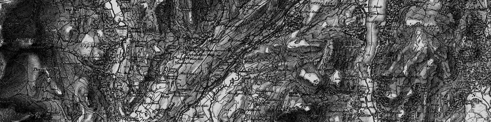 Old map of Woodland Grove in 1897