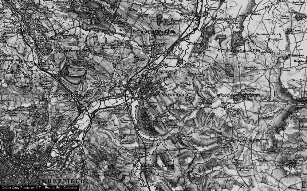 Old Maps of Rotherham Francis Frith