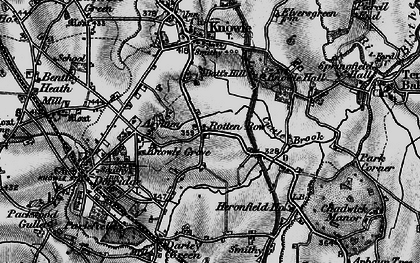 Old map of Lansdowne in 1899