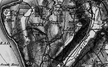 Old map of Tomlin in 1897