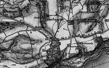 Old map of Westhayes in 1897