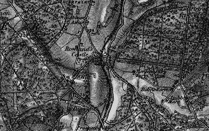 Old map of Rowlands Castle in 1895