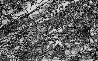 Old map of Rowledge in 1895