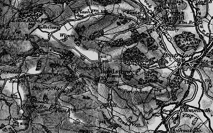 Old map of Ball's Cross in 1896