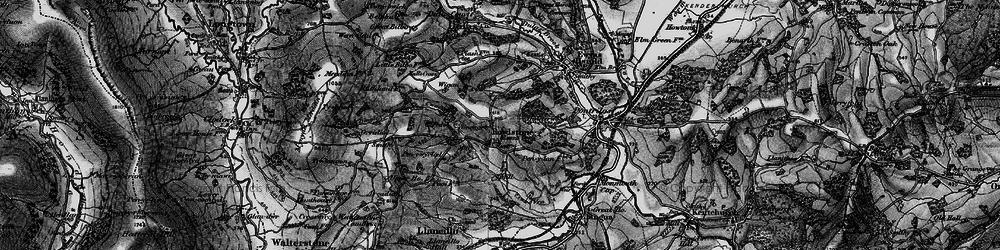 Old map of Wigga in 1896