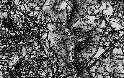Old map of Rowley Regis in 1899