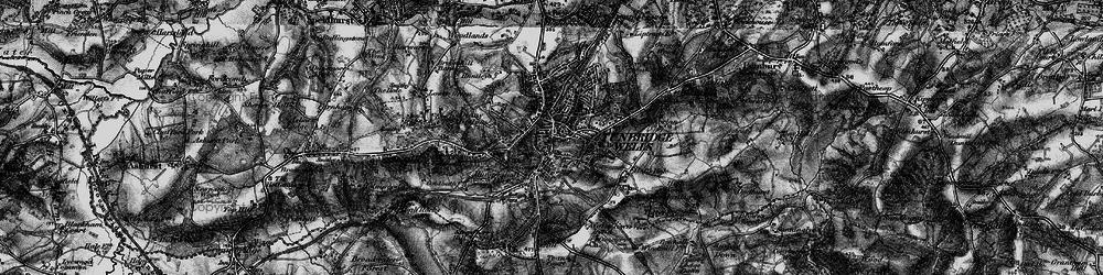 Old map of Tunbridge Wells in 1895