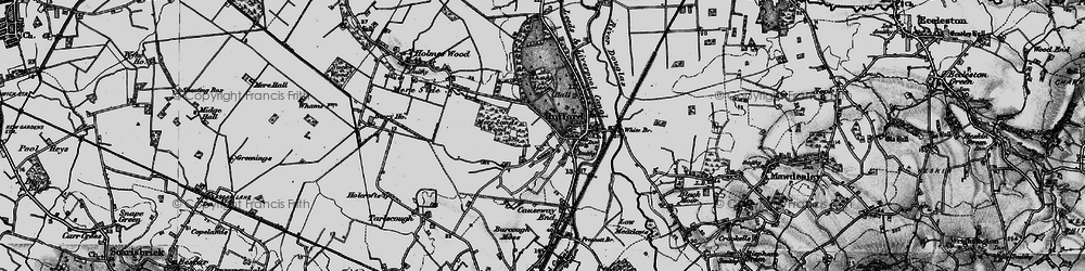 Old map of White Br in 1896