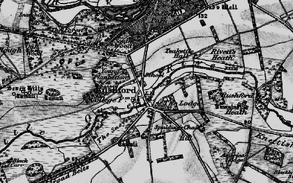 Old map of Young Plantn in 1898