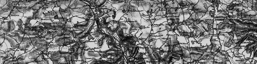 Old map of Wrenpark Wood in 1895