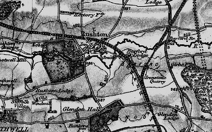 Old map of Barford Br in 1898