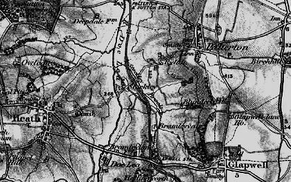 Old map of Rylah in 1896