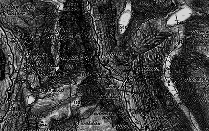 Old map of Bannisdale Fell in 1897