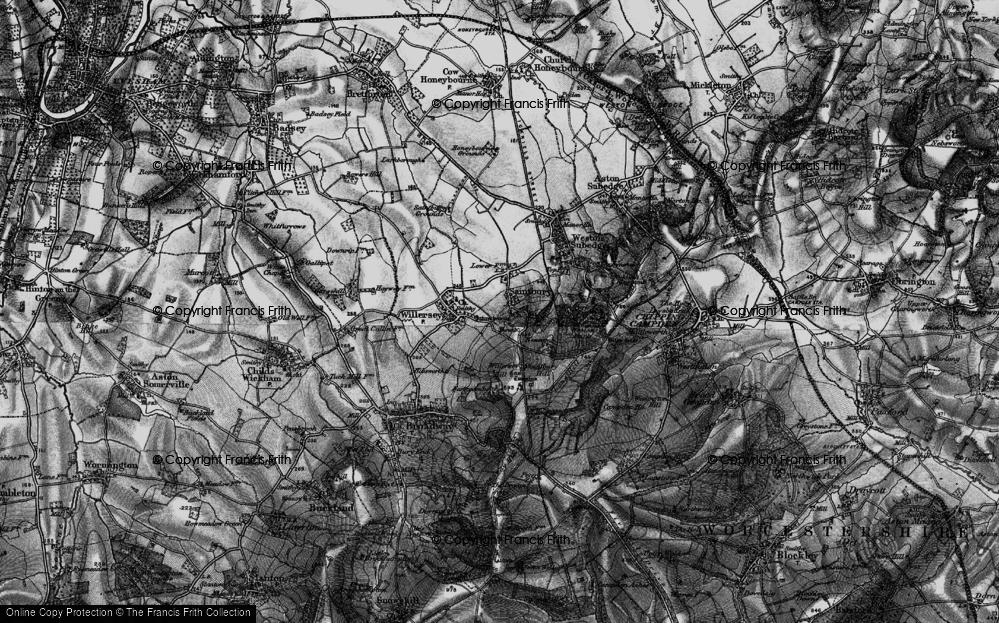 Old Map of Saintbury, 1898 in 1898