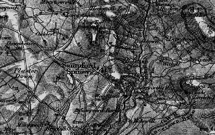 Old map of Withill in 1898
