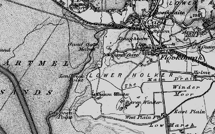 Old map of Lenibrick Point in 1898
