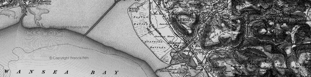 Old map of Witford Point in 1897
