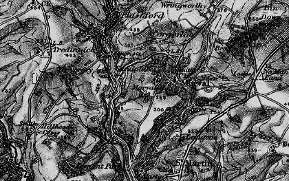 Old map of Sandplace in 1896