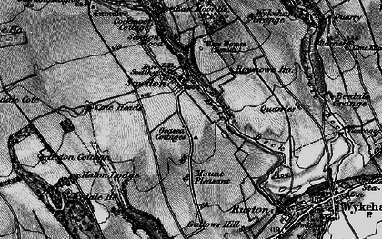 Old map of Wykeham Grange in 1898