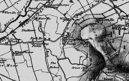 Old map of Whinflower Hall in 1898