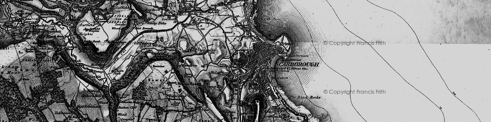 Old map of Scarborough in 1897