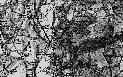 Old map of Wyresdale Park in 1896