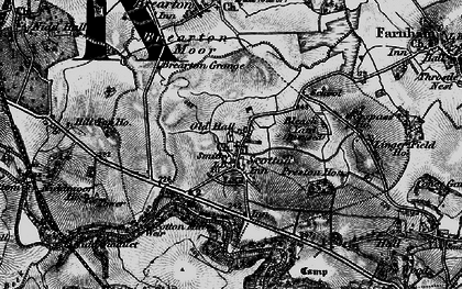 Old map of Lingerfield in 1898