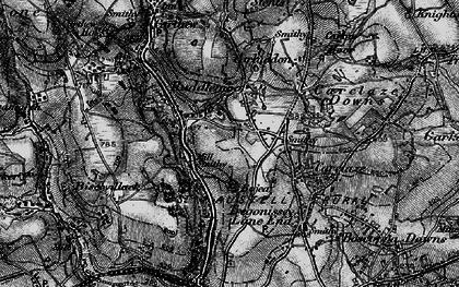 Old map of Scredda in 1895