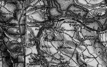 Old map of Sea Mills in 1895