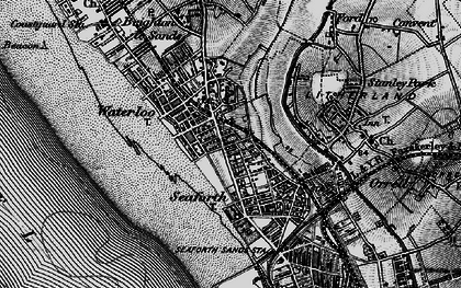 Old map of Seaforth in 1896