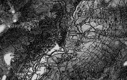Old map of Seathwaite in 1897