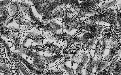 Old map of Seaureaugh Moor in 1895